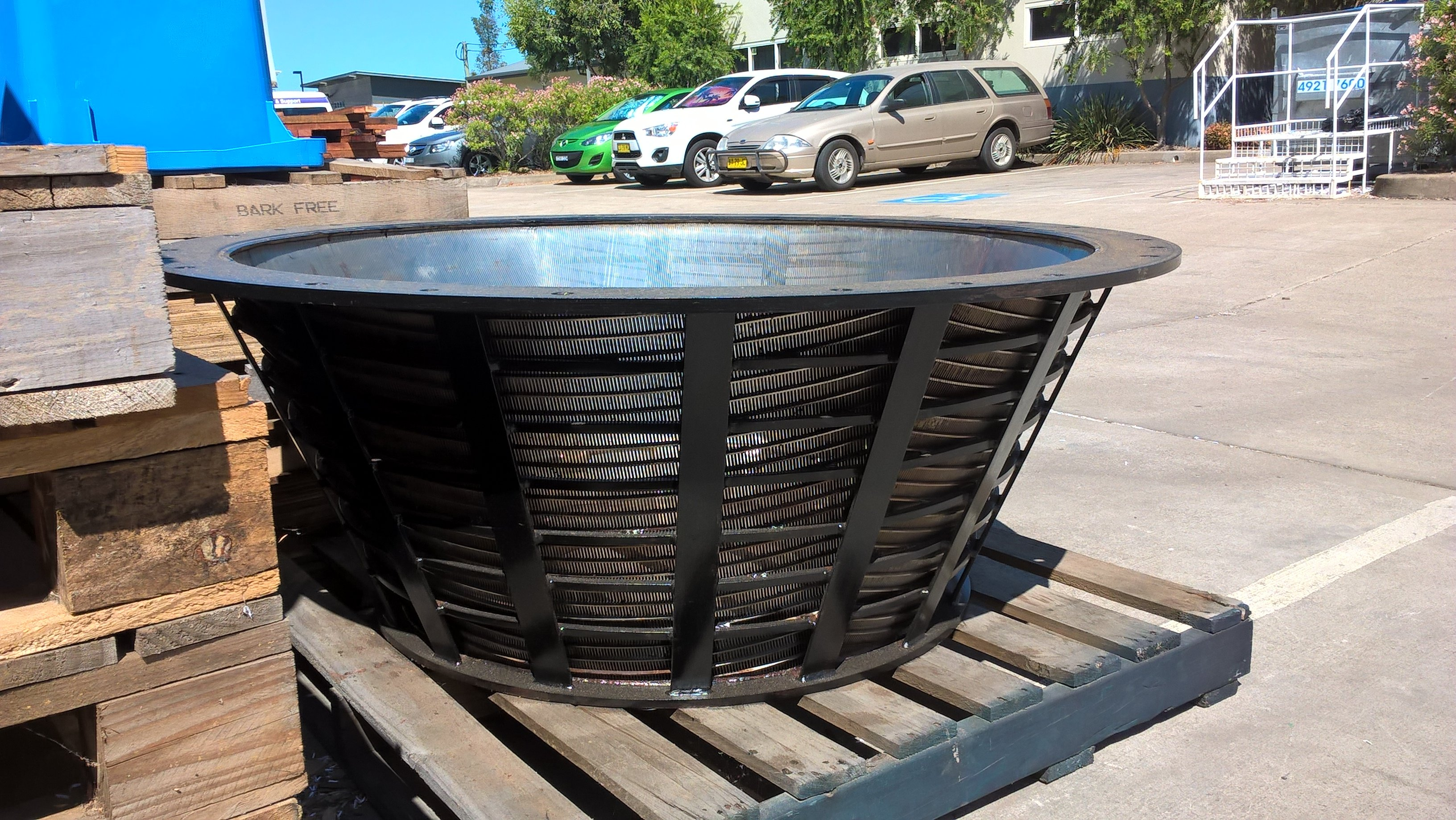 We have our fire baskets in stock for keeping you warm on those cold winter nights. Medium are $250 and perfect for your backyard and large are $220 and ideal for rural properties. Come in to 45 Magpie Street or call us on 6572 2578 to secure yours!