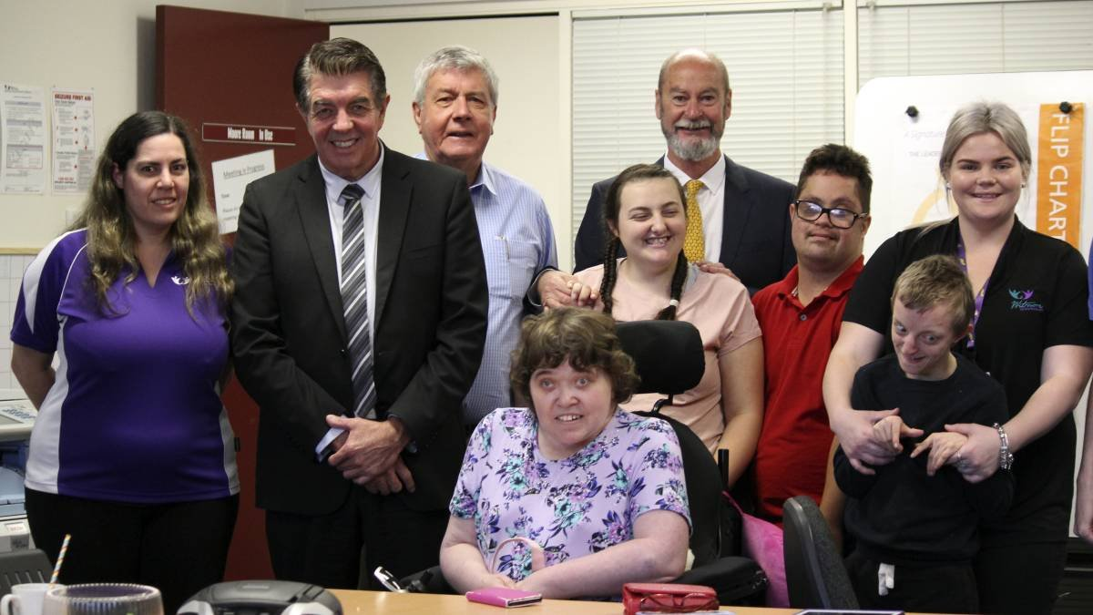 News Minister for Disability Services Ray Williams visits